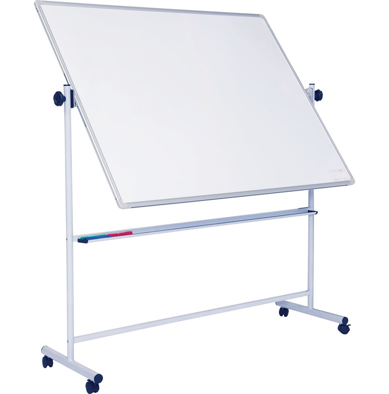 Non-Magnetic Mobile Swivel Writing Board