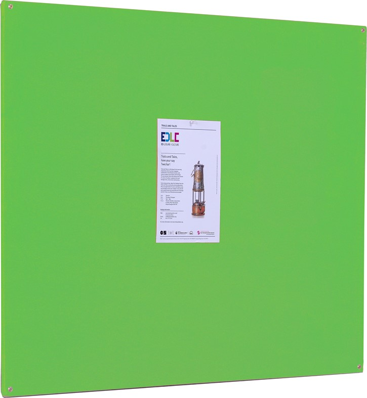 Accents FlameShield Unframed Noticeboard