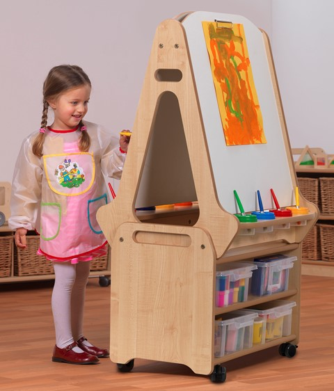 Double-sided Easel and Stand
